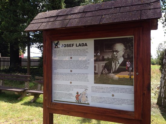 ‪Memorial of Josef Lada‬