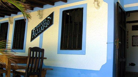 Posada Acuario: entrada