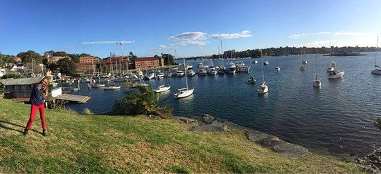 Balmain, ออสเตรเลีย: Mały ładny park