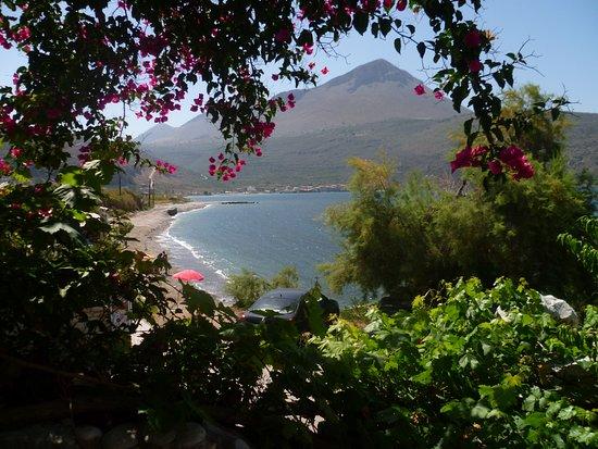 Oitylo, กรีซ: Blick von unserem Zimmer