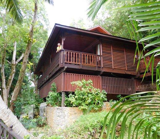 Cerf Island, Îles Seychelles : Villa Takamaka