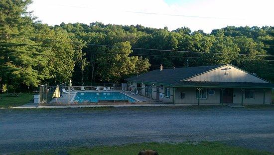 Saylorsburg, Pensilvania: Outdoor pool