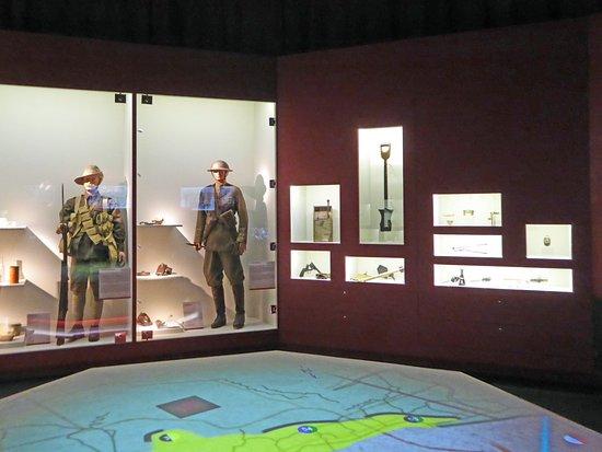 Musee de la Bataille de Fromelles : Exhibit