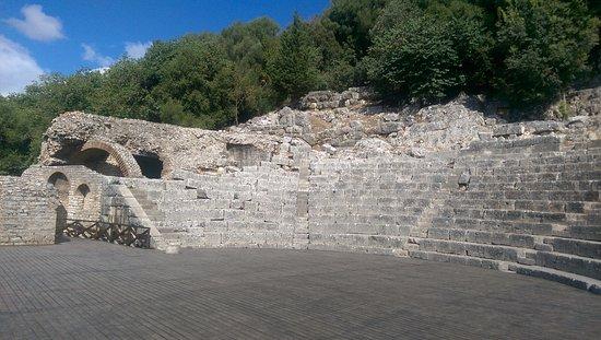 Butrint, Albanien: amphitheâtre
