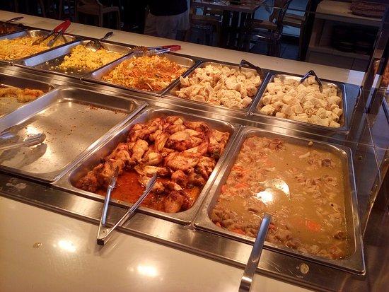 Empoli, Itália: Uma parte del buffet
