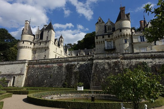 Rigny-Usse, فرنسا: Château d'Ussé - garden