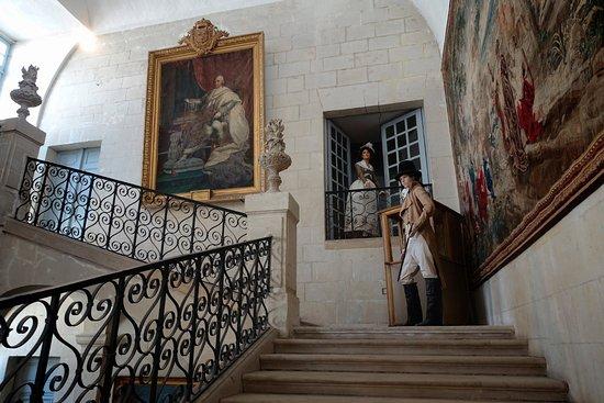 Rigny-Usse, فرنسا: Château d'Ussé - inside