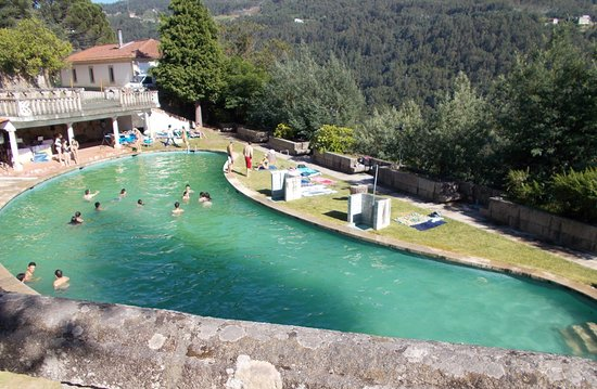 Convento de Alpendurada: One of the worst pools ever, with local youth - not hotel patrons