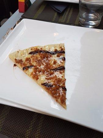 Le Brasilien: Pizza speculoos