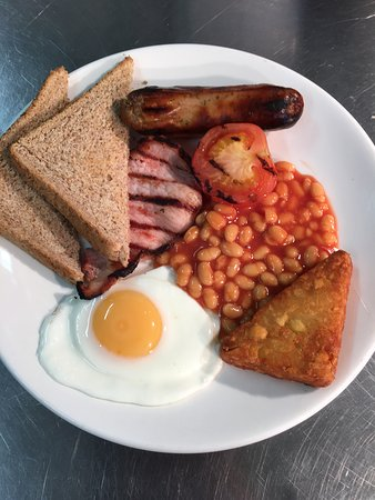 Colne, UK: Our small cooked breakfast, just £2-69!