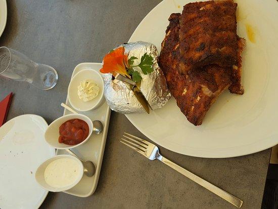 Saalfelden am Steinernen Meer, Austria: Awesome lunch