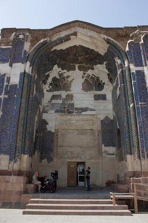 Kabood (Goey) Mosque: The Gate (Arch)