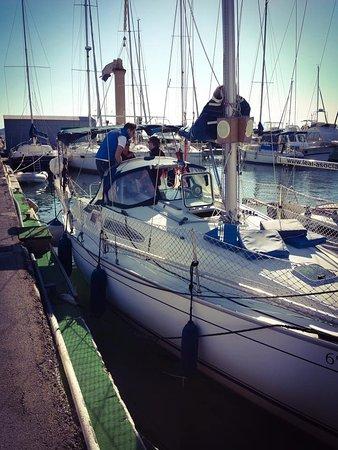 Los Alcazares, Spania: Jeanneau boat