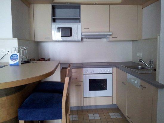 Wesel, Tyskland: keuken gedeelte