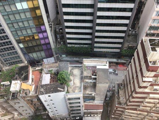 The Mercer Hong Kong: 18階から