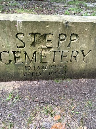 Martinsville, IN: Stepp Cemetery-pic taken during Three Trails Hike