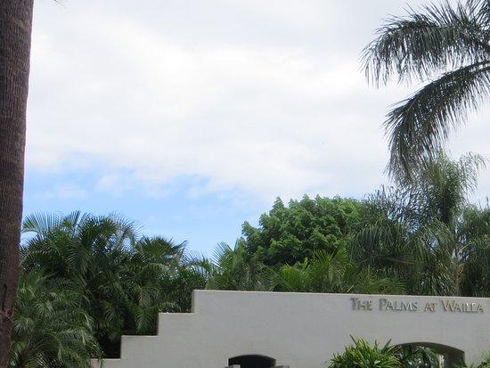 Palms at Wailea: Front entrance