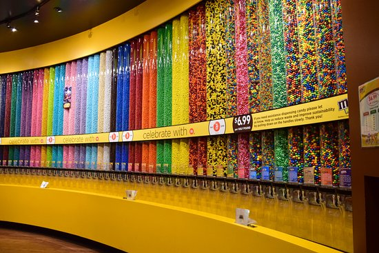 Image result for m&m world store vegas