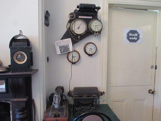 Mundaring, Australia: old guage's from the steam train's