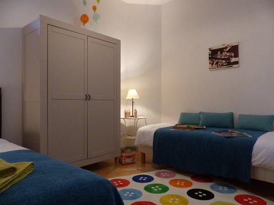 Domaine Fournie: Chambre familiale 4 personnes