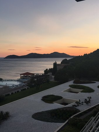 Orasac, Kroatien: View from restaurant in hotel