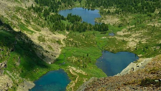Republic of Altai, Ρωσία: Туюкские озера