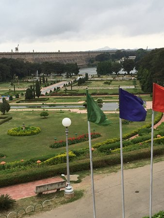 Royal Orchid Brindavan Gardens: Garden view from room