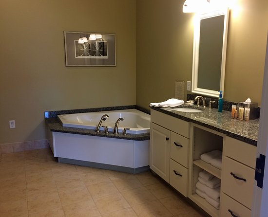 Jeffersonville, VT: Master bath with double shower, double sinks, and jacuzzi tub