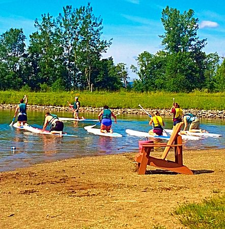 Jeffersonville, VT: Paddle boarding lessons at Bootleggers