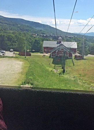 Jeffersonville, VT: View from Stowe gondola