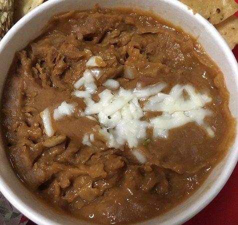 ราวน์ร็อก, เท็กซัส: Visiting family in Austin pick-up to-go: Refried pinto beans