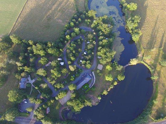 Conques, França: Camping Etang du Camp