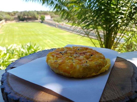 Sant Joan De Binissaida: Excelente comida, mejor presentación y exquisita atención!
