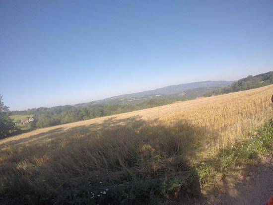 Central Serbia, Serbien: Vistas desde los alrededores