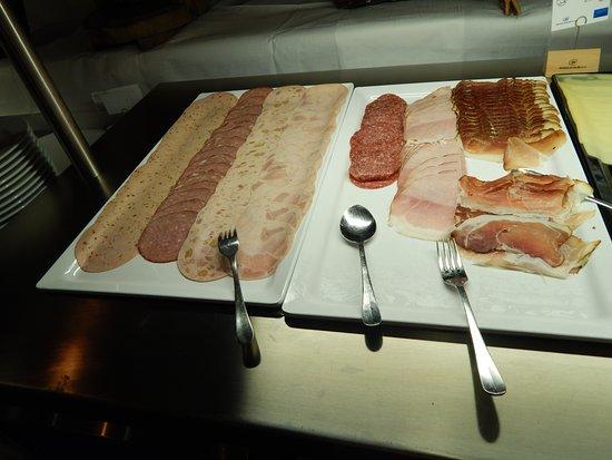 Gargellen, Autriche : buffet