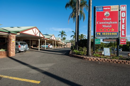 Toowoomba, Αυστραλία: Outdoor Motel Entrance