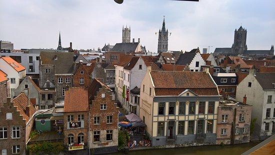 Hotel Harmony: Prachtig uitzicht over historisch Gent