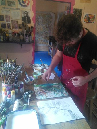 Nina 39 s art studio san miguel de allende lo que se debe for Nina g salon lahore