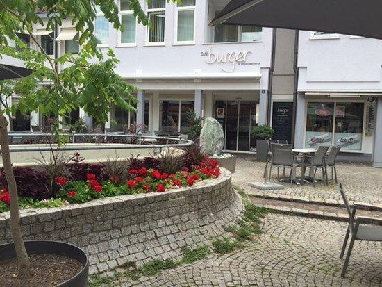 Lahr, Deutschland: Cafe Burger, leider zu ( Sonntag )