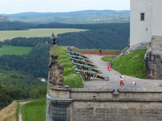 Koenigstein, Alemanha: Gun terrace