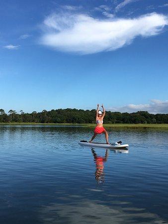 Amelia Island Paddle Surf Company Sup Yoga On