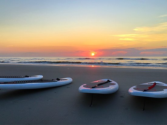 Fernandina Beach, FL: Sunrise SUP
