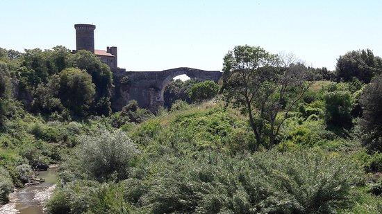 Montalto di Castro, İtalya: Ponte e castello dell'Abbadia