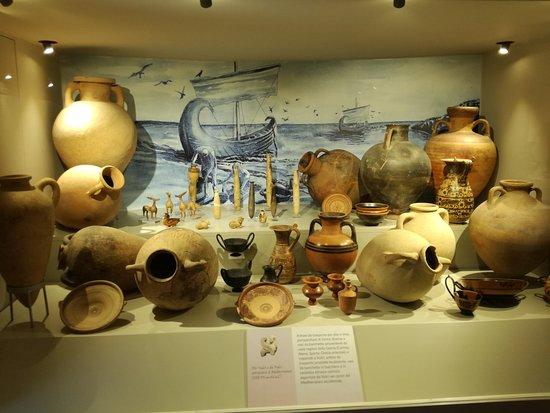 Montalto di Castro, Włochy: vetrina museo