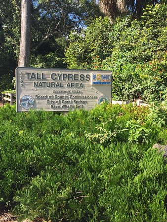 Coral Springs, FL: Entrance to Tall Cypress