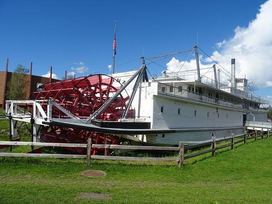 Pioneer Park: bateau à roue