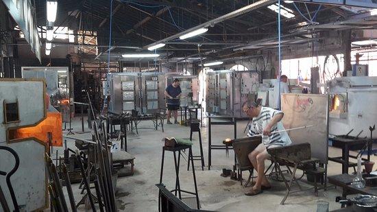 Biot, Γαλλία: Atelier de la verrerie