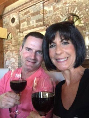 Trequanda, إيطاليا: Brunello wine tasting