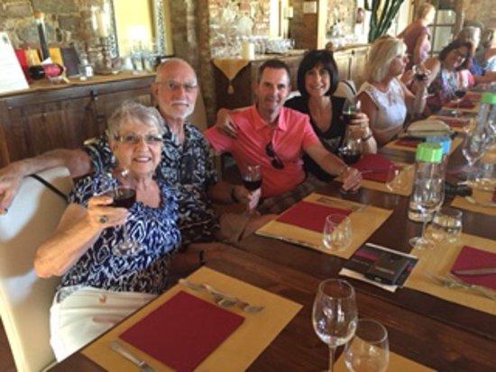Trequanda, إيطاليا: Lunch