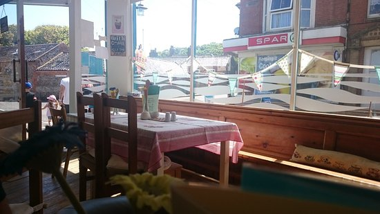 Mundesley, UK: Cafe